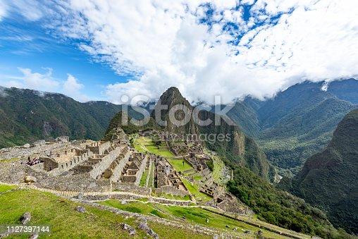 istock Machu Picchu In Peru 1127397144