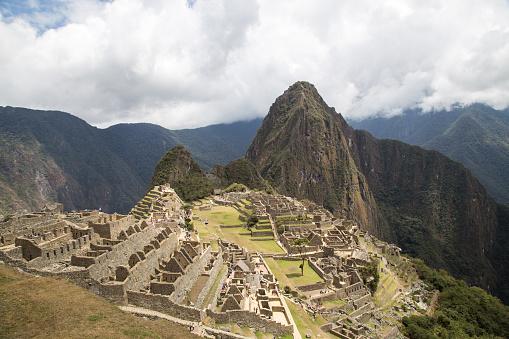 Foto de Ruínas Incas De Machu Picchu e mais fotos de stock de América do Sul