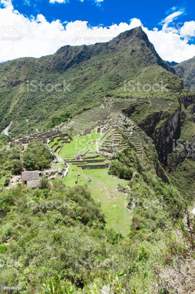 Machu Picchu , Peru stock photo