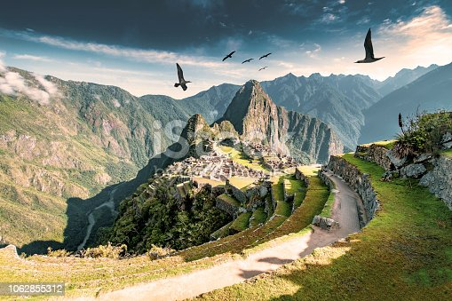 Machu Picchu, the citadel of the Inca Empire.