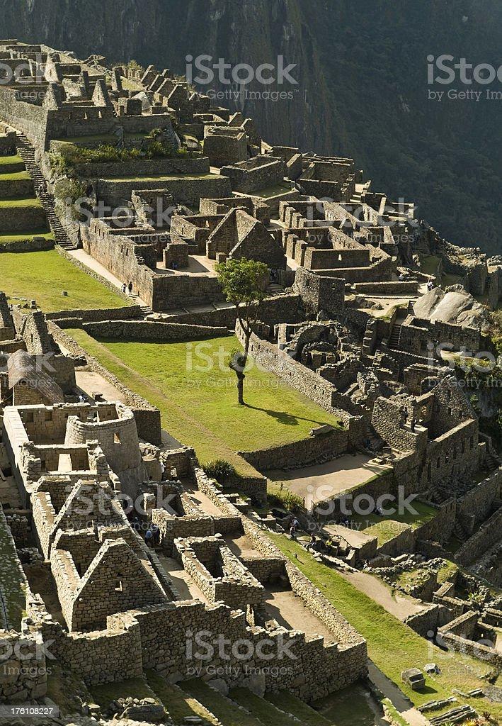 Machu Picchu royalty-free stock photo