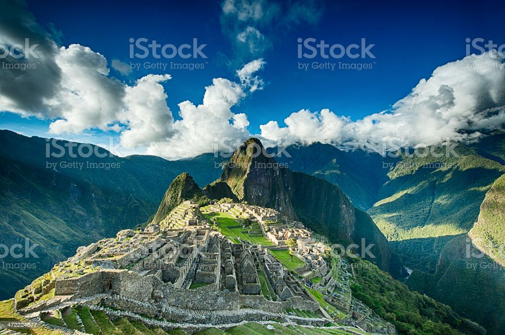 Machu Picchu stock photo