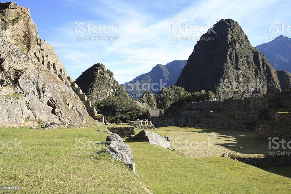 Ruinen von Machu Picchu Lizenzfreies stock-foto