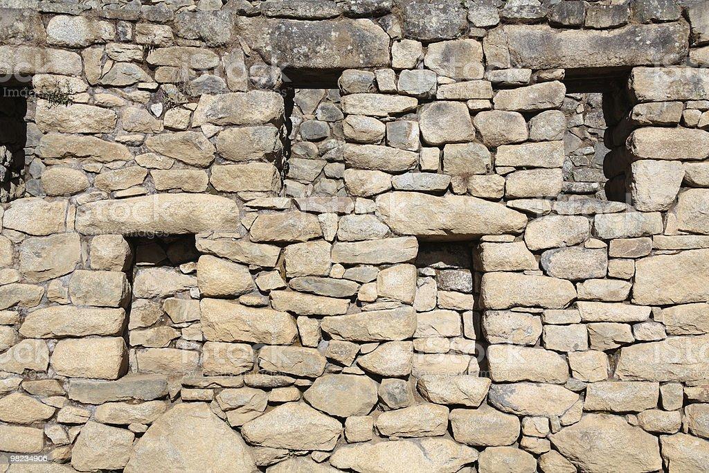 Rovine di Machu Picchu foto stock royalty-free