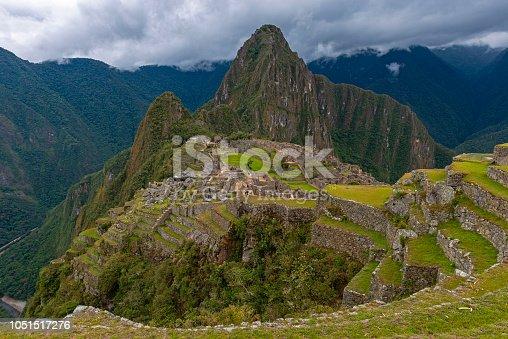 istock Machu Picchu with Dramatic Sky, Peru 1051517276