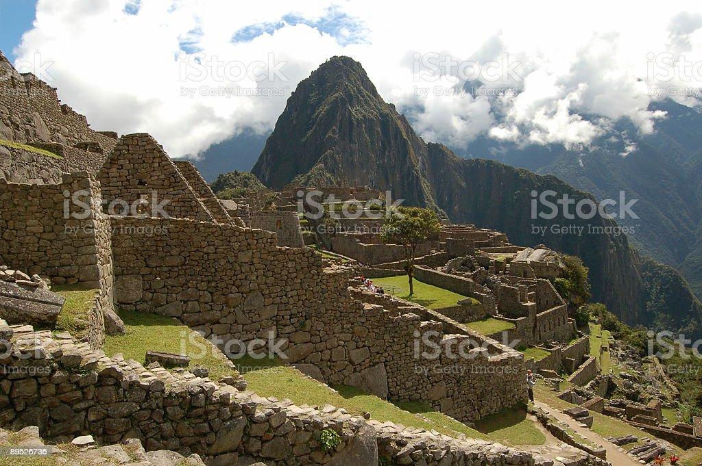 Machu picchu3 royalty-free stock photo