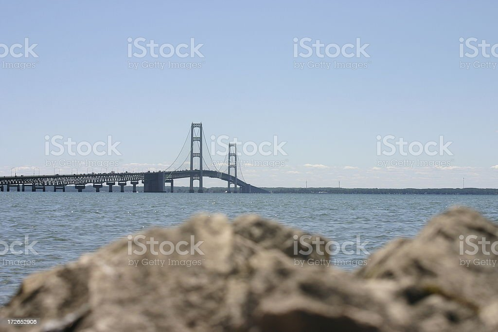 macinack Bridge 3 stock photo