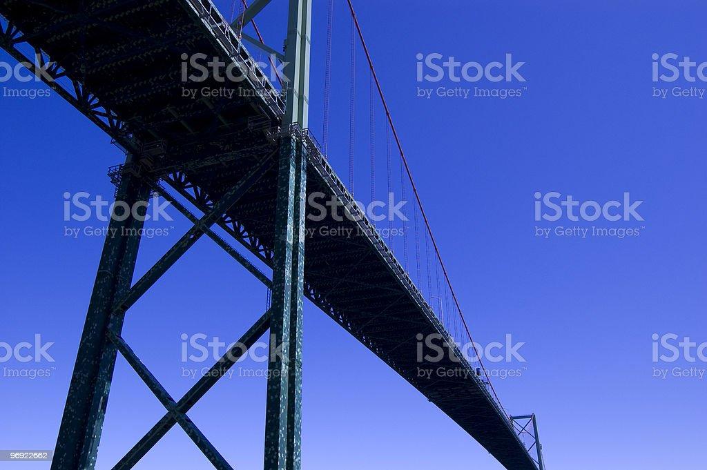 MacKay Bridge royalty-free stock photo