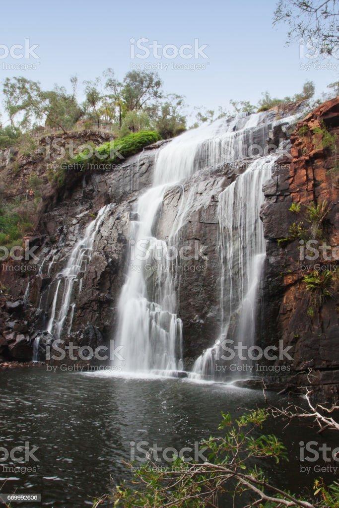 MacKenzie Falls waterfall. stock photo