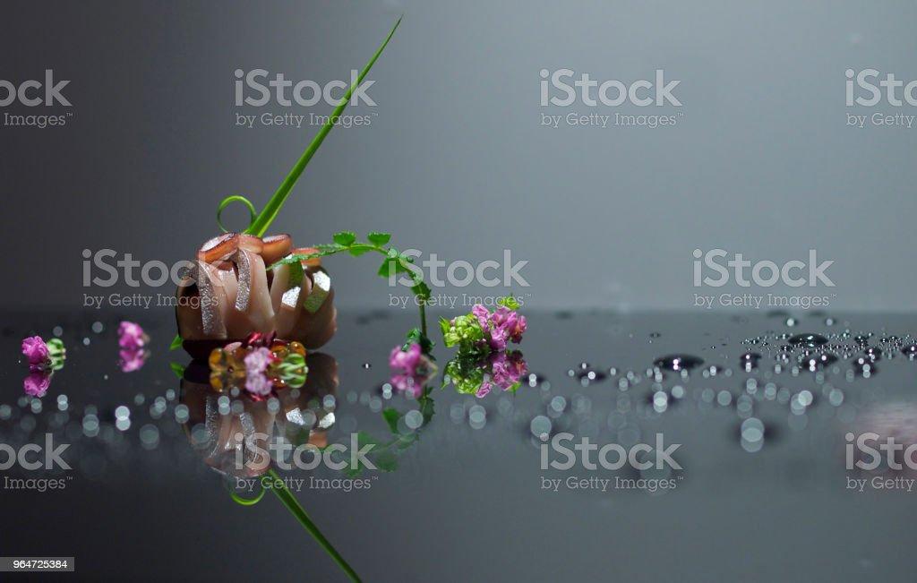 mackerel sushi royalty-free stock photo