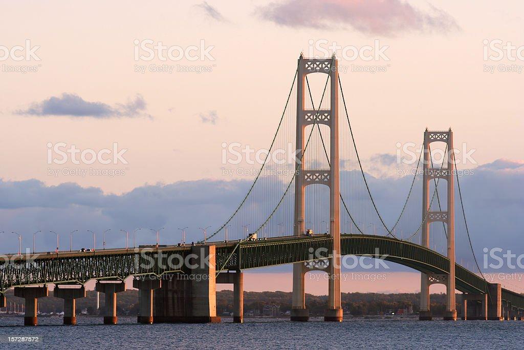 マキナック橋 - つり橋のストッ...