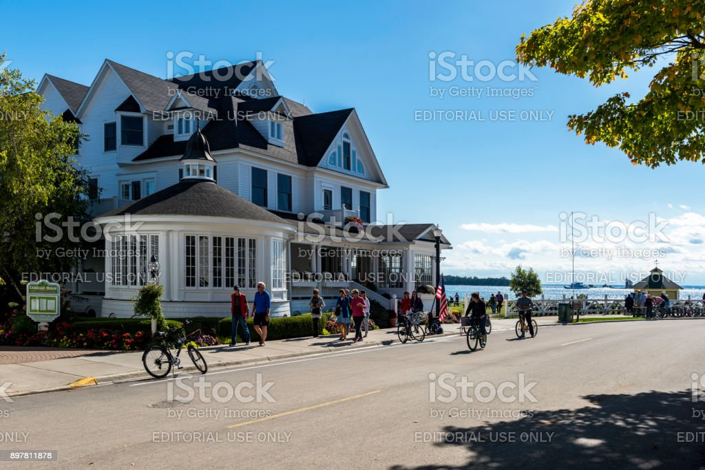 Mackinac street - foto stock