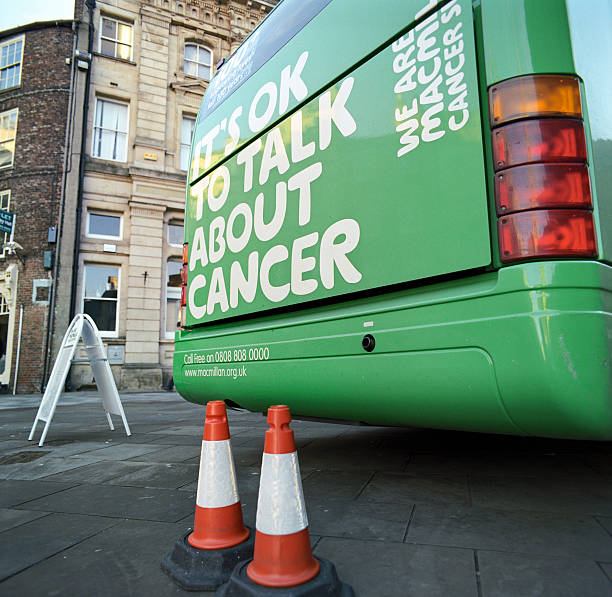 Macmillan cancer care organisation stock photo