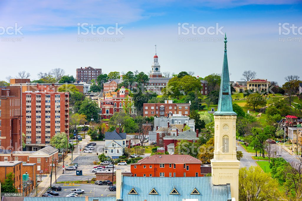 Macon Georgia USA stock photo