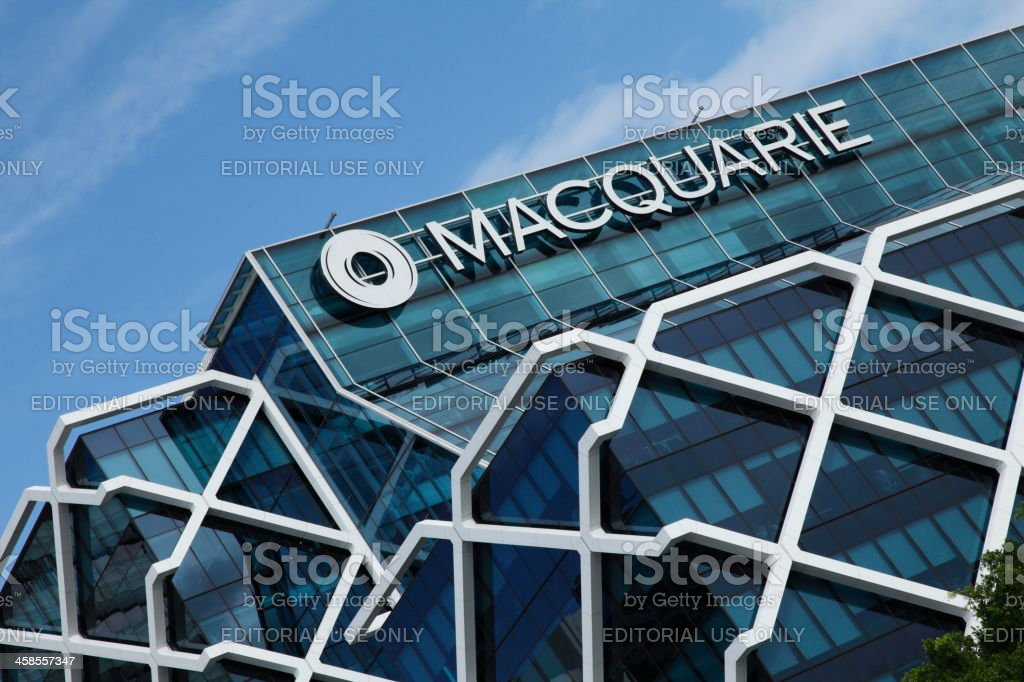 Macquarie Building royalty-free stock photo