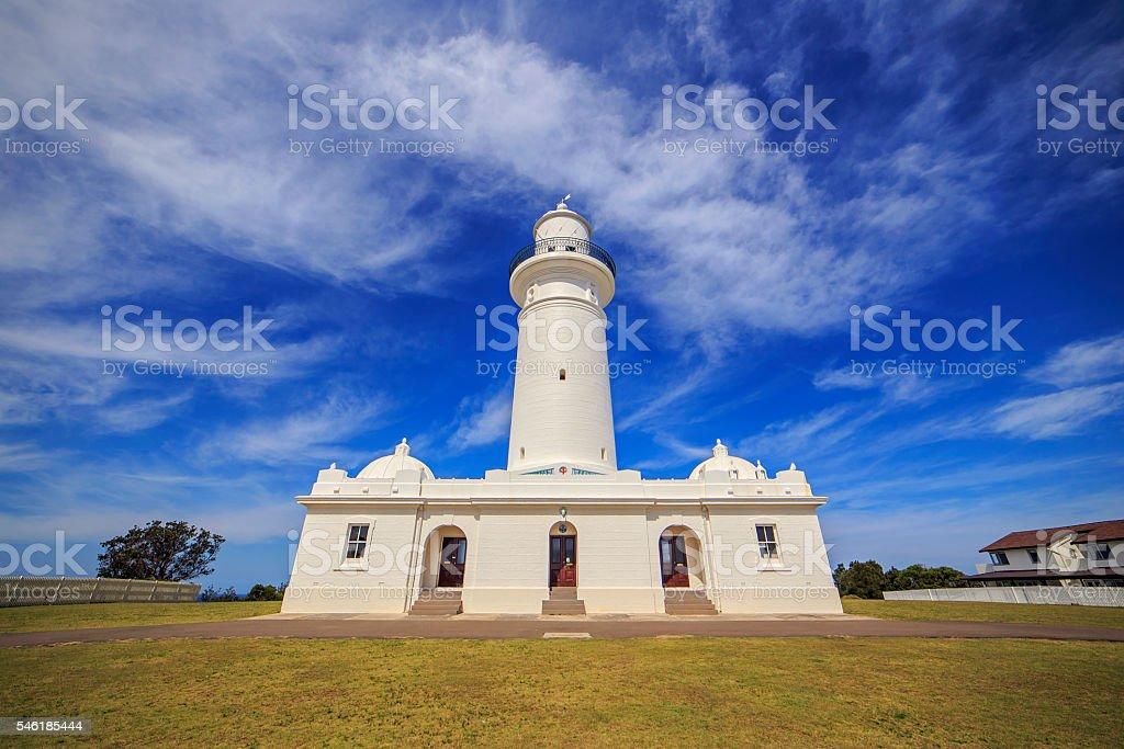 Macquarie Lighthouse stock photo