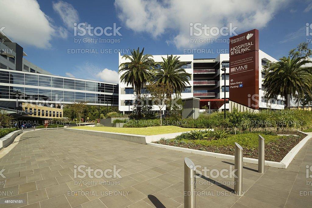 Macquarie University Hospital & Clinic stock photo