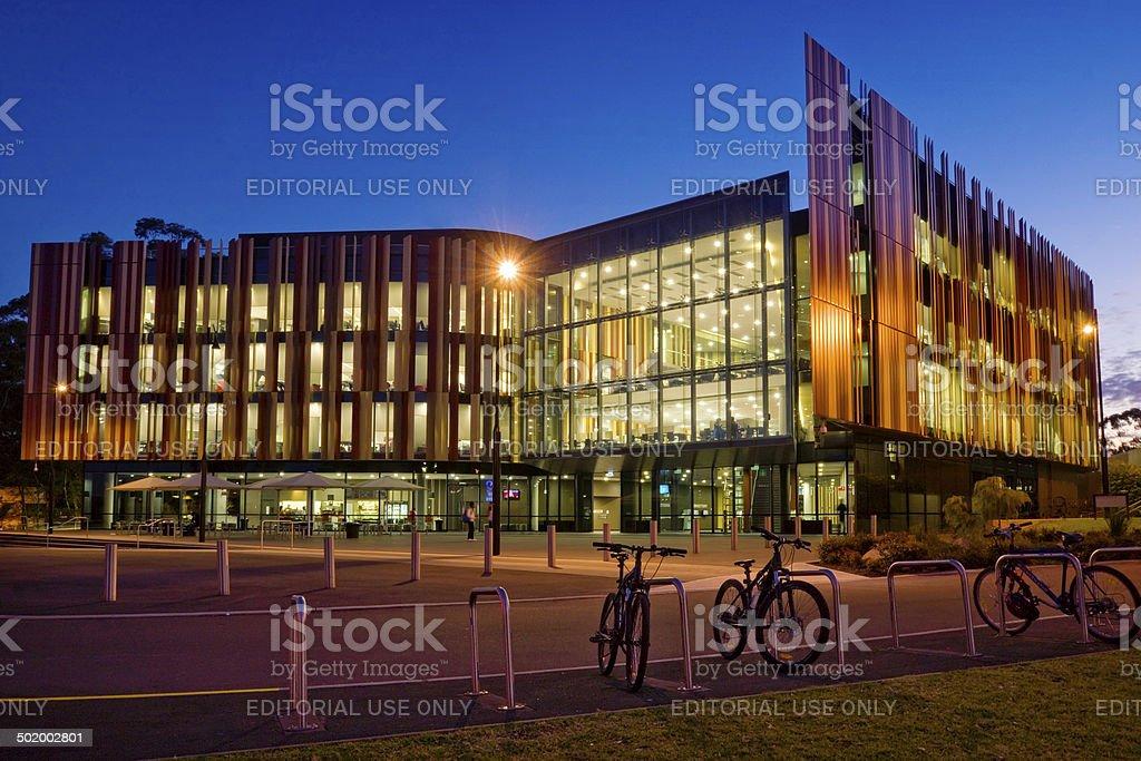 Macquarie University Library stock photo