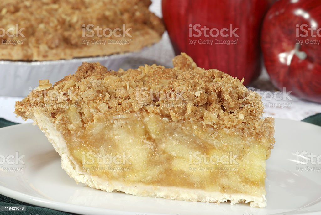 macro apple crisp shallow DOF stock photo