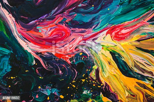 istock macro close up of different color oil paint. colorful acrylic 638818632