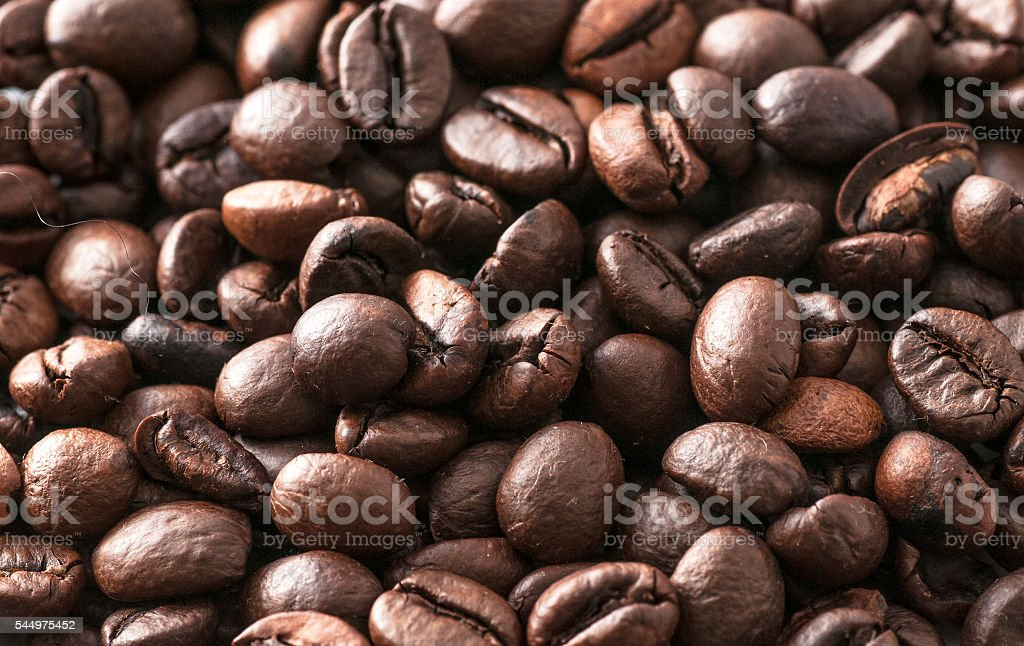 macro coffee beans roasted stock photo