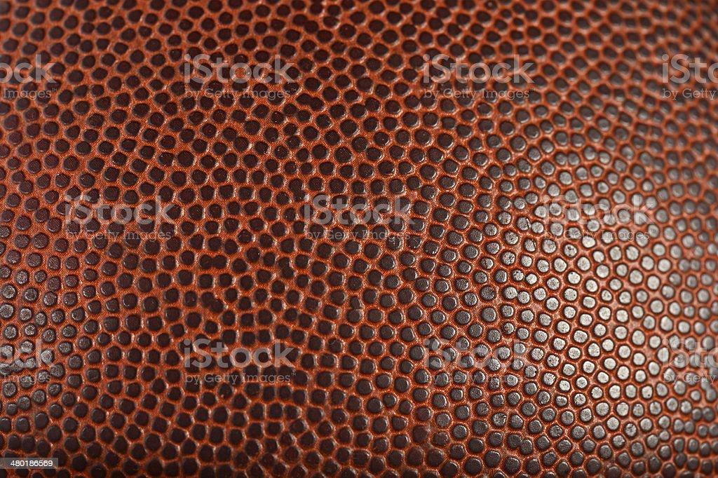 Macro Detail of Football or Basketball stock photo