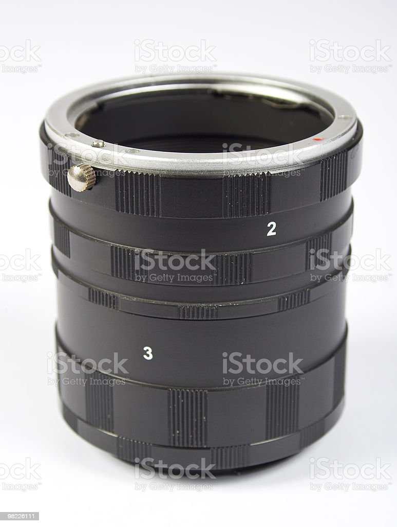 macro extension tube royalty-free stock photo