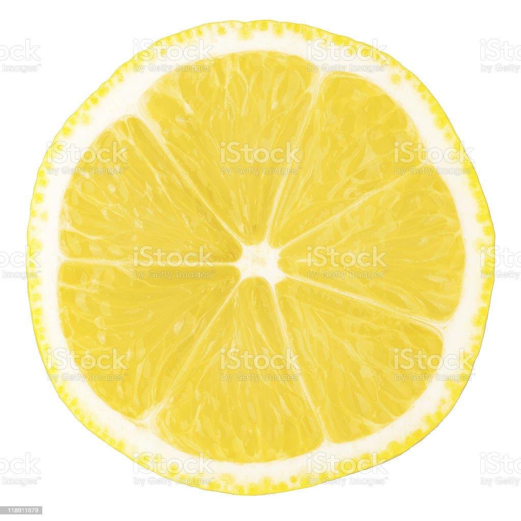 Macro food collection - Lemon slice royalty-free stock photo