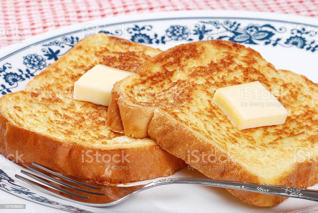 macro french toast royalty-free stock photo