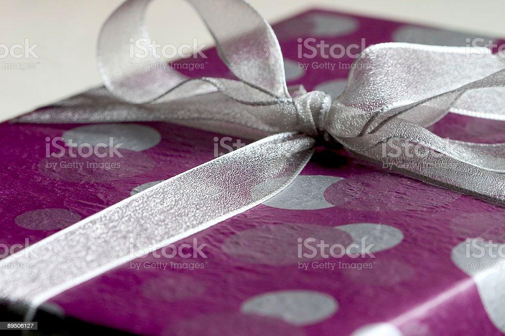 Macro Giftbox 2 royalty-free stock photo