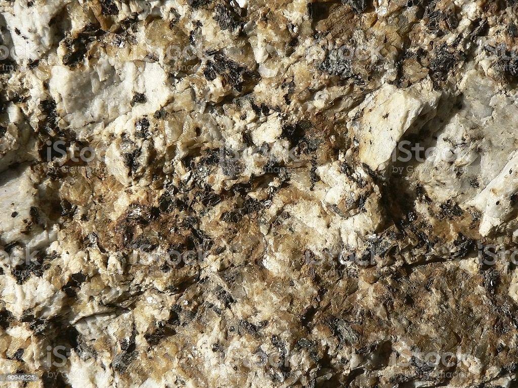 Macro Granite royalty-free stock photo