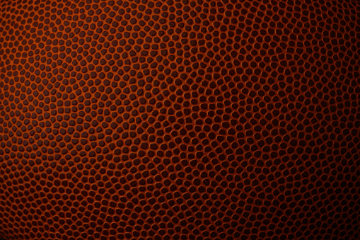 Macro Image of Football Texture
