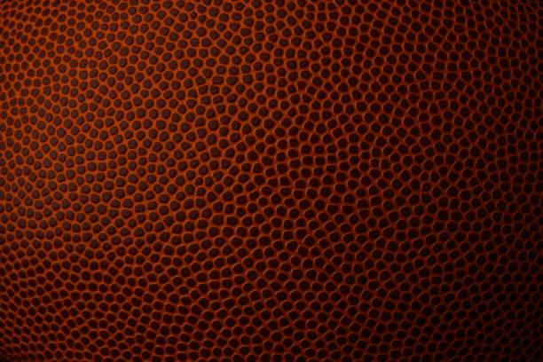 Macro Image of Football Texture stock photo