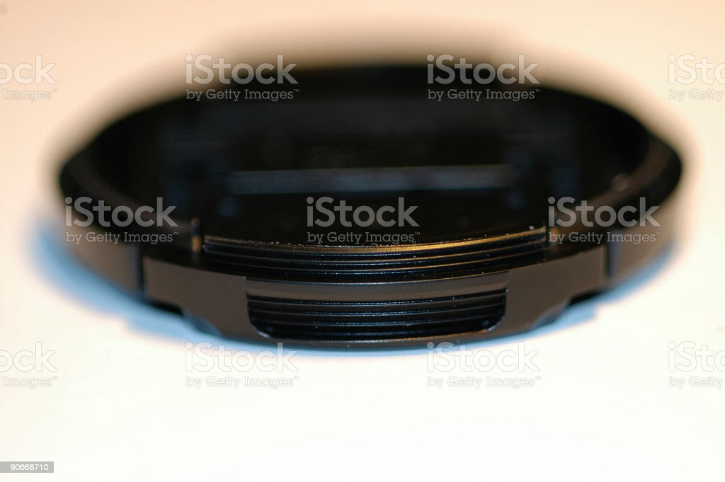 Macro Lens Cap royalty-free stock photo