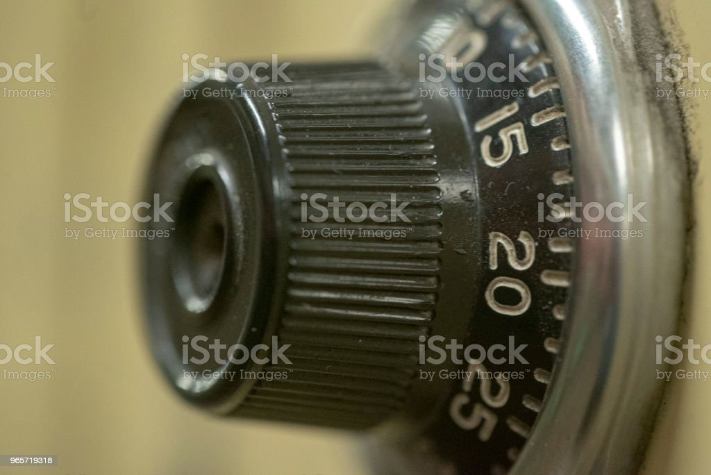 Macro locker - Royalty-free Canada Stock Photo