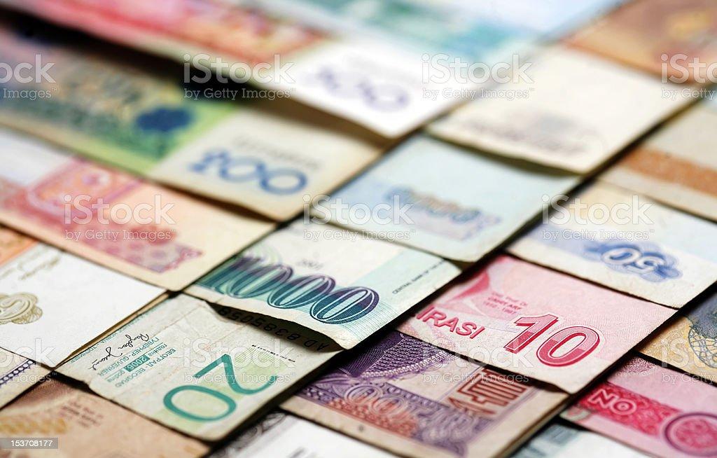 Macro money royalty-free stock photo