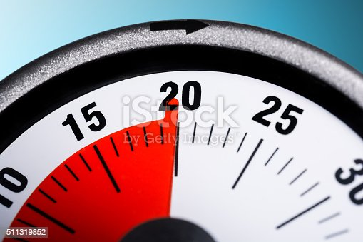 istock Macro Of A Kitchen Egg Timer - 20 Minutes 511319852