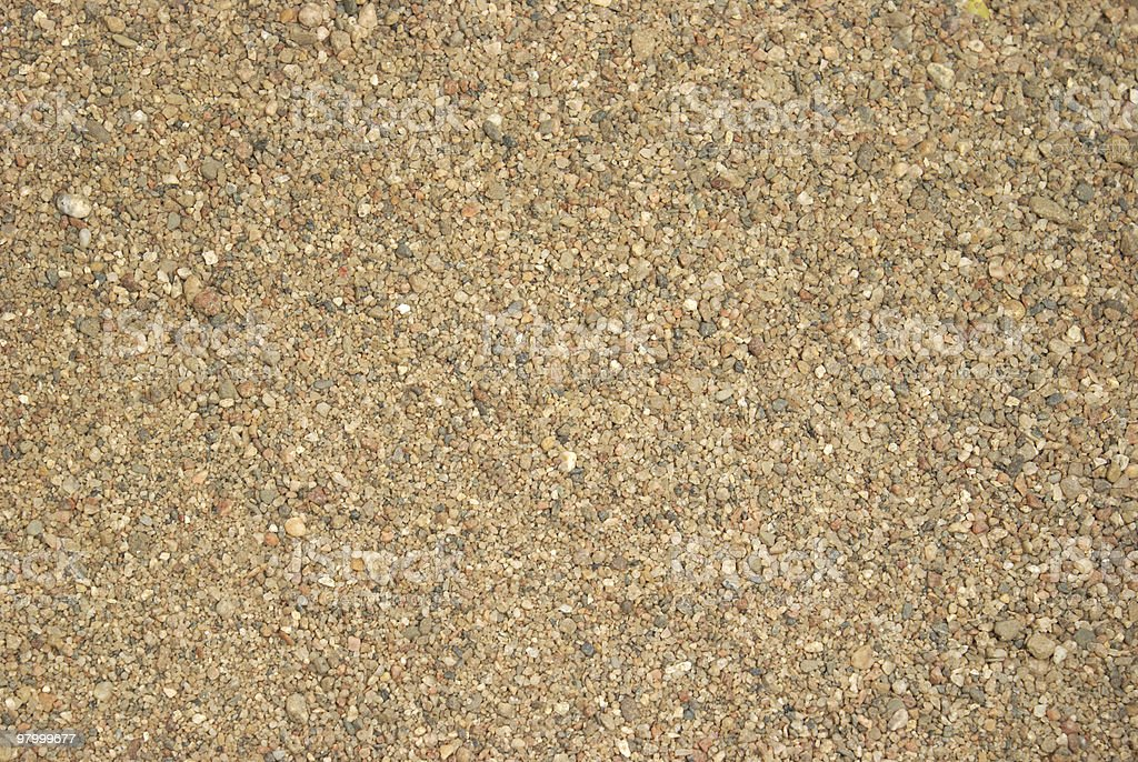 Macro de areia foto royalty-free