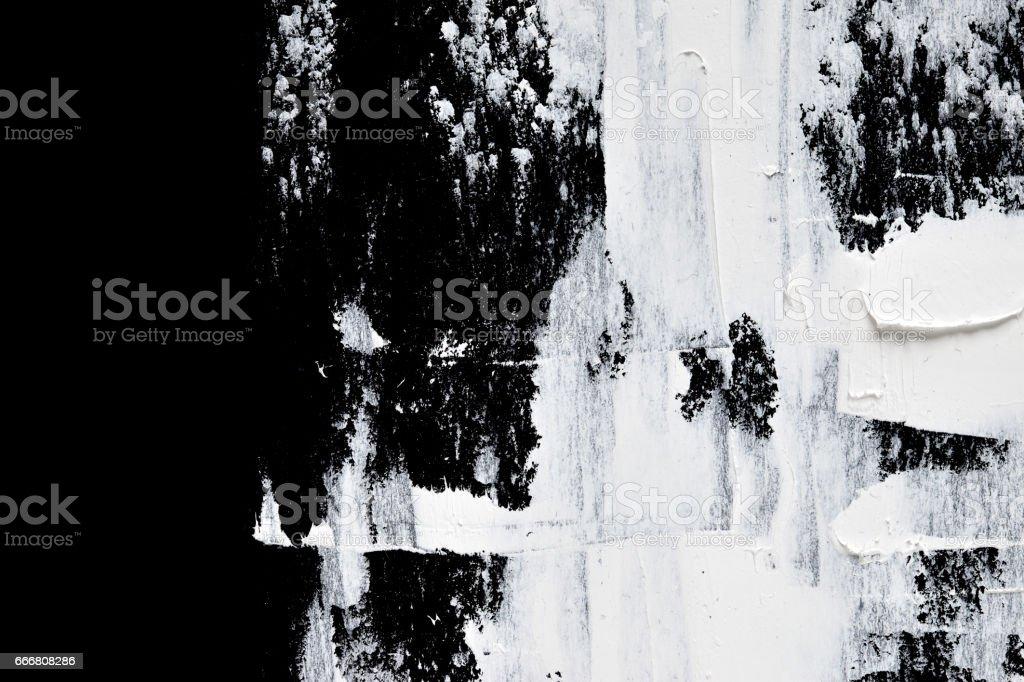 Macro of white brush strokes stock photo