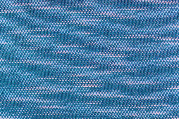 macro on Cotton Polyester stock photo