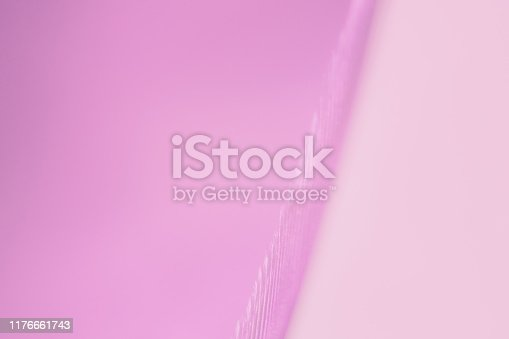 istock Macro photography feather abstract background art image. Pink  tones with delicate details and softness. 1176661743