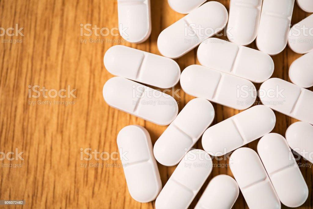 Makro verschreibungspflichtiges Opioid-Schmerzmittel – Foto