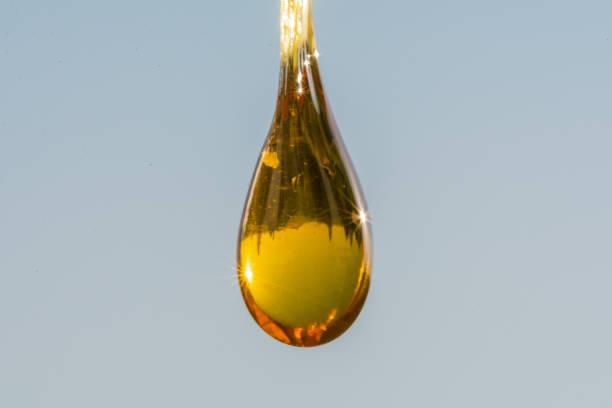 macro resin stock photo