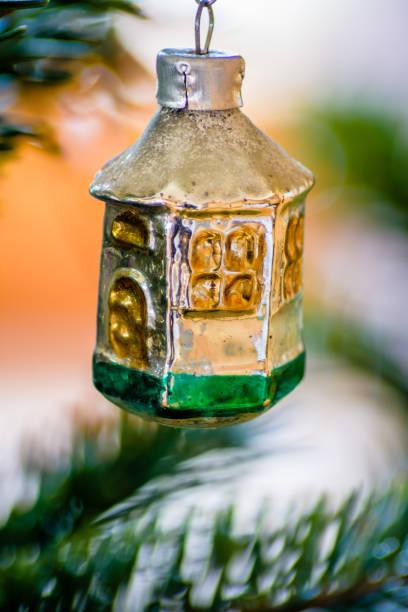 Makroaufnahme einer Vintage Christmas Ornament. – Foto