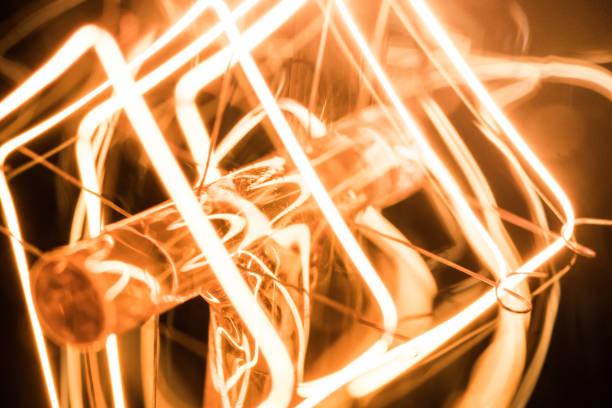 Macro tungstène ampoule - Photo
