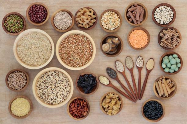 Macrobiotic Diet Health Food stock photo