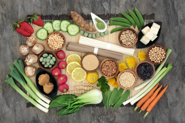 Macrobiotic Health Food stock photo
