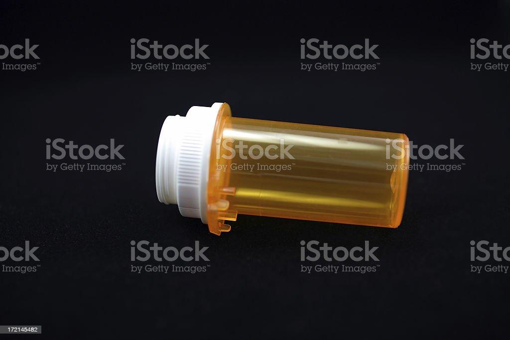 Macrolicious: Prescription Container stock photo