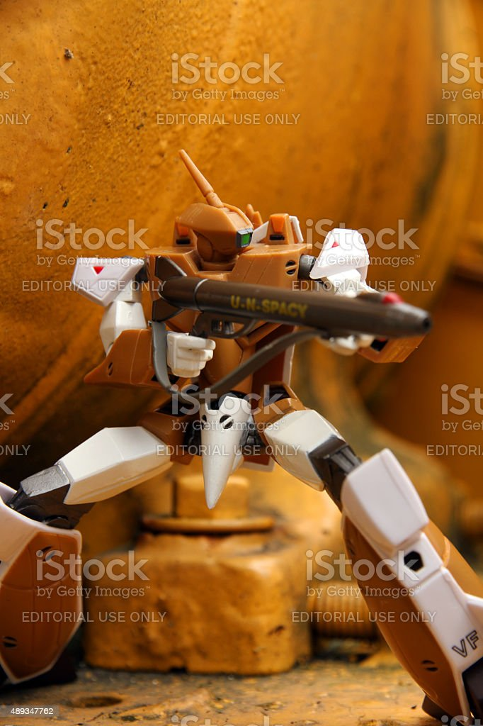 Macross Warrior stock photo
