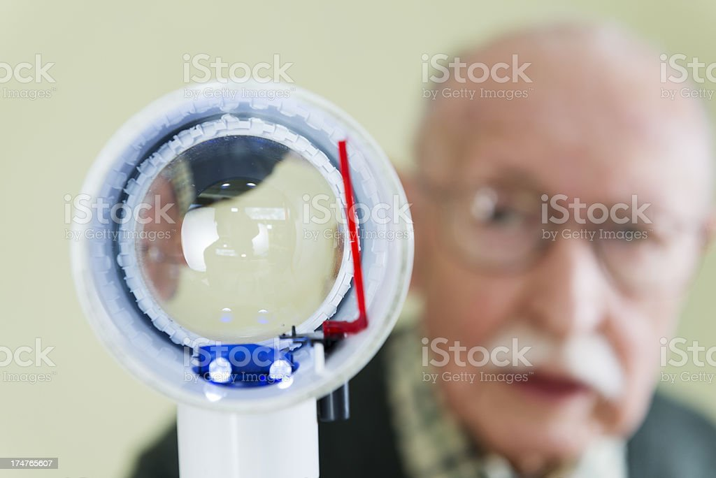 Macular Degeneration stock photo